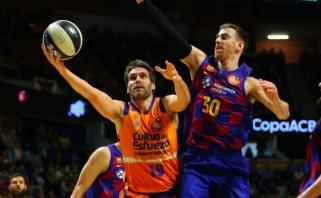 """Sensacija Ispanijos taurėje – Valensijos komanda eliminavo """"Barceloną"""""""