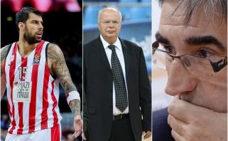 """""""Olympiakos"""" ir """"Panathinaikos"""" konfliktą pakomentavęs Bertomeu gavo labai riebų atsaką iš Graikijos"""