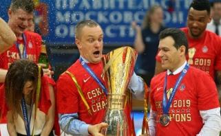 """CSKA vadovas norėtų Eurolygos rungtynes su """"Žalgiriu"""" žaisti Londone"""