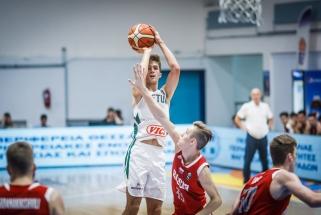 Europos jaunių čempionate lietuviai vėl nusileido per pratęsimą, šįkart - rusams