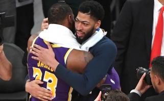 """A.Davisas norėtų pereiti į """"Lakers"""", """"Clippers"""" arba """"Knicks"""""""
