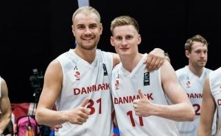 Paskutine lietuvių varžove atrankoje į Europos čempionatą tapo Danijos rinktinė