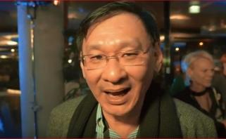 """""""The NEM.io Foundation"""" prezidentas L.Wongas aplankė """"Lietuvos rytą"""" (video)"""