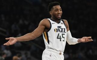"""Liga plinta NBA: teigiamas dar vieno """"Jazz"""" žaidėjo testas"""