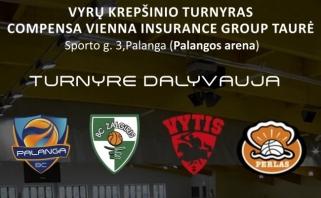 Palangoje bus surengtas keturių komandų turnyras
