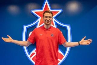Trejiems metams CSKA įsipareigojęs Grigonis nekantrauja parodyti, ką sugeba