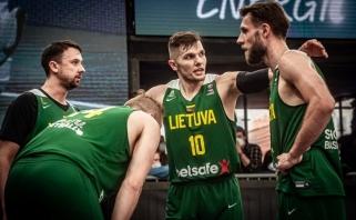 Auksinį tašką sumedžioję lietuviai žais olimpinės 3x3 atrankos turnyro ketvirtfinalyje