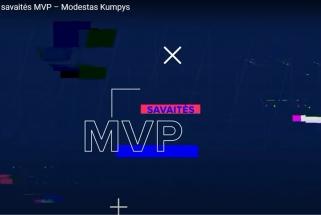 Pirmosios NKL savaitės MVP - M.Kumpys