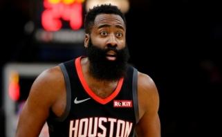 """J.Hardenui nebus lengva palikti Hjustoną: """"Rockets"""" mainams kelia aukštus reikalavimus"""