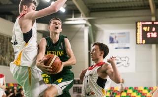 Vokiečius sudoroję lietuviai kovos dėl R.Šiškausko turnyro nugalėtojų titulo