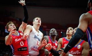 Serbai tęsia įspūdingą pasirodymą: tiesiog sumindė puertorikiečius