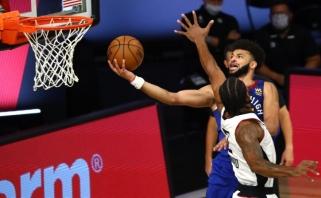 """Per anksti nuvertinti """"Nuggets"""" panaikino dviženklį skirtumą ir tęsia seriją su """"Clippers"""""""