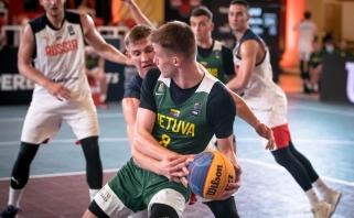 Tautų lygos finalinis etapas Lietuvos 3×3 rinktinėms prasidėjo neramiai