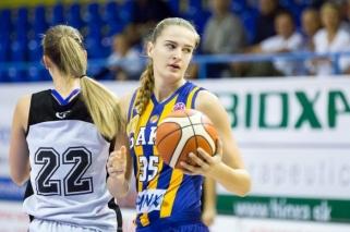 Slovakijoje žibanti jaunoji D.Šarauskaitė svajoja apie žaidimą Eurolygoje ir olimpiadoje