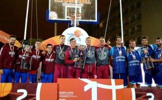 VDU studentai - Europos universitetų trijulių krepšinio čempionatai