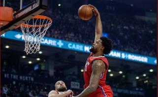 """Sutarties su """"Clippers"""" nepratęsęs D.Jordanas gali atsidurti čempionų gretose"""