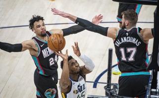 Dar vienas Valančiūno dublis laimėti prieš NBA lyderius nepadėjo (rezultatai)