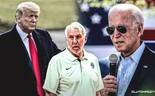 G.Popovichius - už J.Bideną: kategoriškai smerkiu baltųjų pranašumą