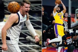 """Dončičius varo į prarają """"Clippers"""", """"Lakers"""" pavyko atsitiesti, Porzingiui – bauda už linksmybes klube"""