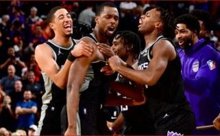 Žudikiškas Barneso šūvis paskutinę sekundę – įspūdingiausias NBA nakties momentas
