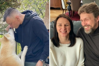 Motinos dienos sveikinimai: Š.Jasikevičius parodė užaugusį šunį, D.Adomaitis – barzdą
