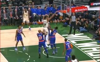 Monstriški G.Antetokounmpo ir B.Simmonso dėjimai - gražiausi NBA nakties momentai