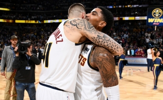 """Puikus Hernangomezo blokas pražudė """"Warriors"""" Denveryje, """"Clippers"""" įveikė """"Rockets"""""""
