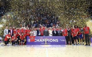 Varžovai keičiasi – rezultatas tas pats: CSKA vėl triumfavo Vieningosios lygos finale